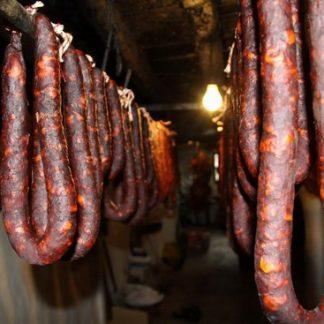 Chorizo Herradura Jabalí 400g Cecinas Caballero Rojo